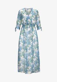 Alba Moda - Maxi dress - blau/off-white - 5