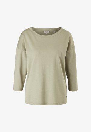 3/4 MANCHES - T-shirt basic - olive