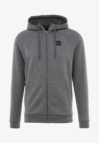Under Armour - RIVAL  - Training jacket - charcoal light heather/black - 3