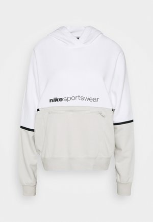 HOODIE ARCHIVE - Mikina s kapucí - white/light bone/black