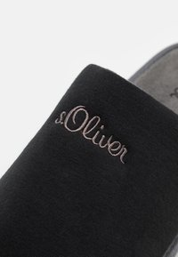 s.Oliver - Slippers - black - 5
