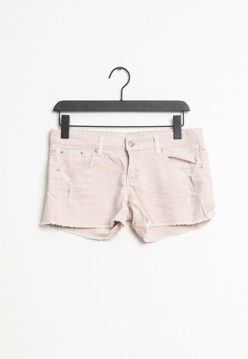 Mango - Jeansshort - pink