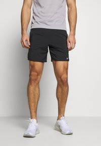 Nike Performance - FLEX STRIDE SHORT - Korte broeken - black/reflective silver - 0