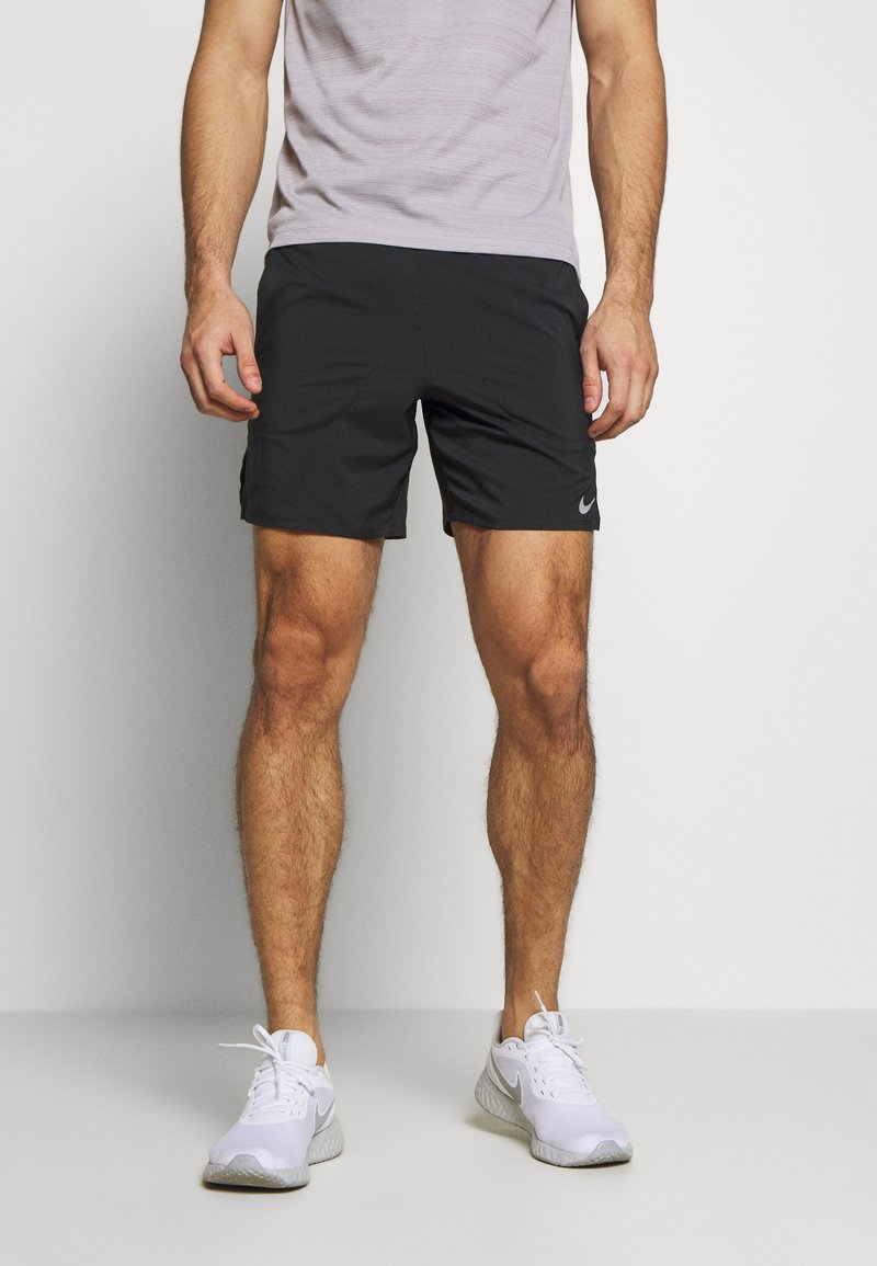 Nike Performance - FLEX STRIDE SHORT - Korte broeken - black/reflective silver