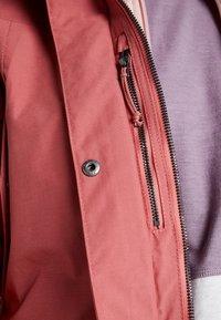 Didriksons - AGNES WOMENS COAT - Parka - pink blush - 6