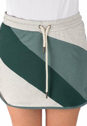RAKELA - Pencil skirt - lt ht gry+gn gbl+slv pine