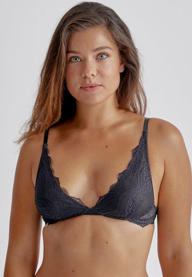 DALIA - Triangle bra - black