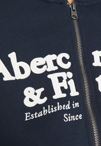 Abercrombie & Fitch - FULL ZIP - Zip-up hoodie - navy - 5