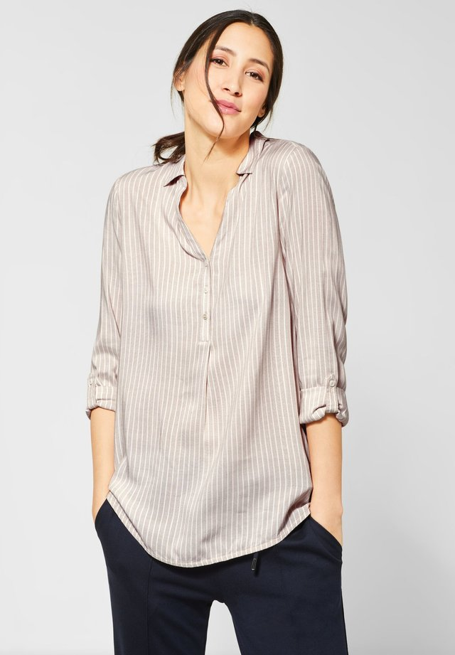 CHAMBRAY  - Blouse - brown