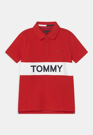BLOCKING  - Polo shirt - deep crimson