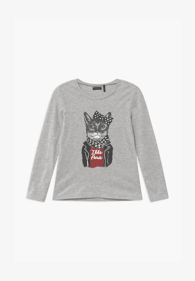 BIKER CAT - Long sleeved top - gris