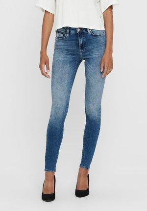 LSUELANOT MID - Jeans Skinny Fit - medium blue denim
