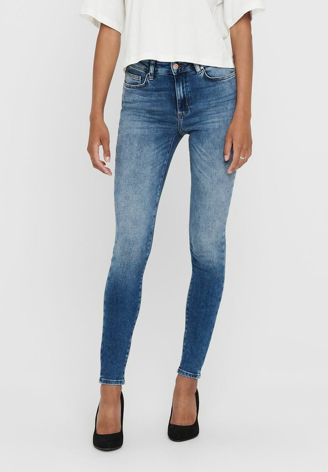 LSUELANOT MID - Jeans Skinny Fit - medium blue denim
