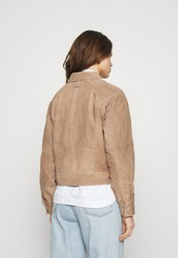 Deadwood - KYLIE - Leather jacket - sand - 2