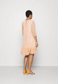 Selected Femme - JEANIE GRACY DRESS - Day dress - opera mauve - 2