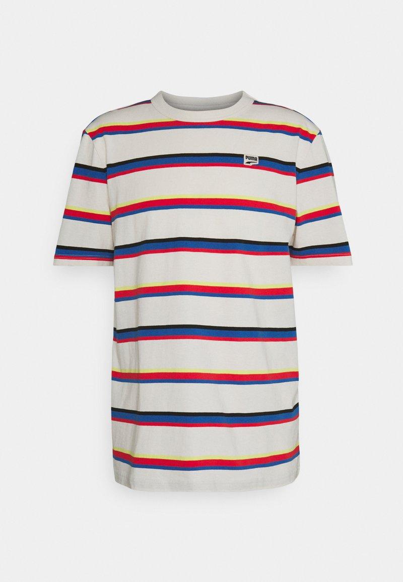 Puma - DOWNTOWN TEE - Print T-shirt - poppy red