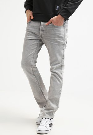3301 STRAIGHT - Jeans a sigaretta - kamden grey stretch denim