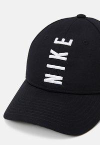 Nike Sportswear - WORDMARK UNISEX - Kšiltovka - black - 4