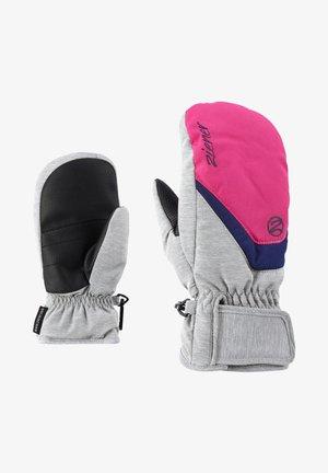 FÄUSTLINGE LORIAN  - Mittens - light melange pop pink