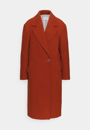 EGG SHAPED SIDE PANELS COLLAR WELT POCKETS - Classic coat - bricklane
