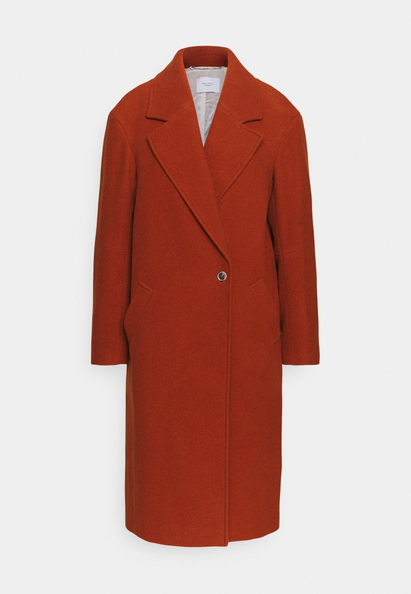 Marc O'Polo PURE - EGG SHAPED SIDE PANELS COLLAR WELT POCKETS - Classic coat - bricklane