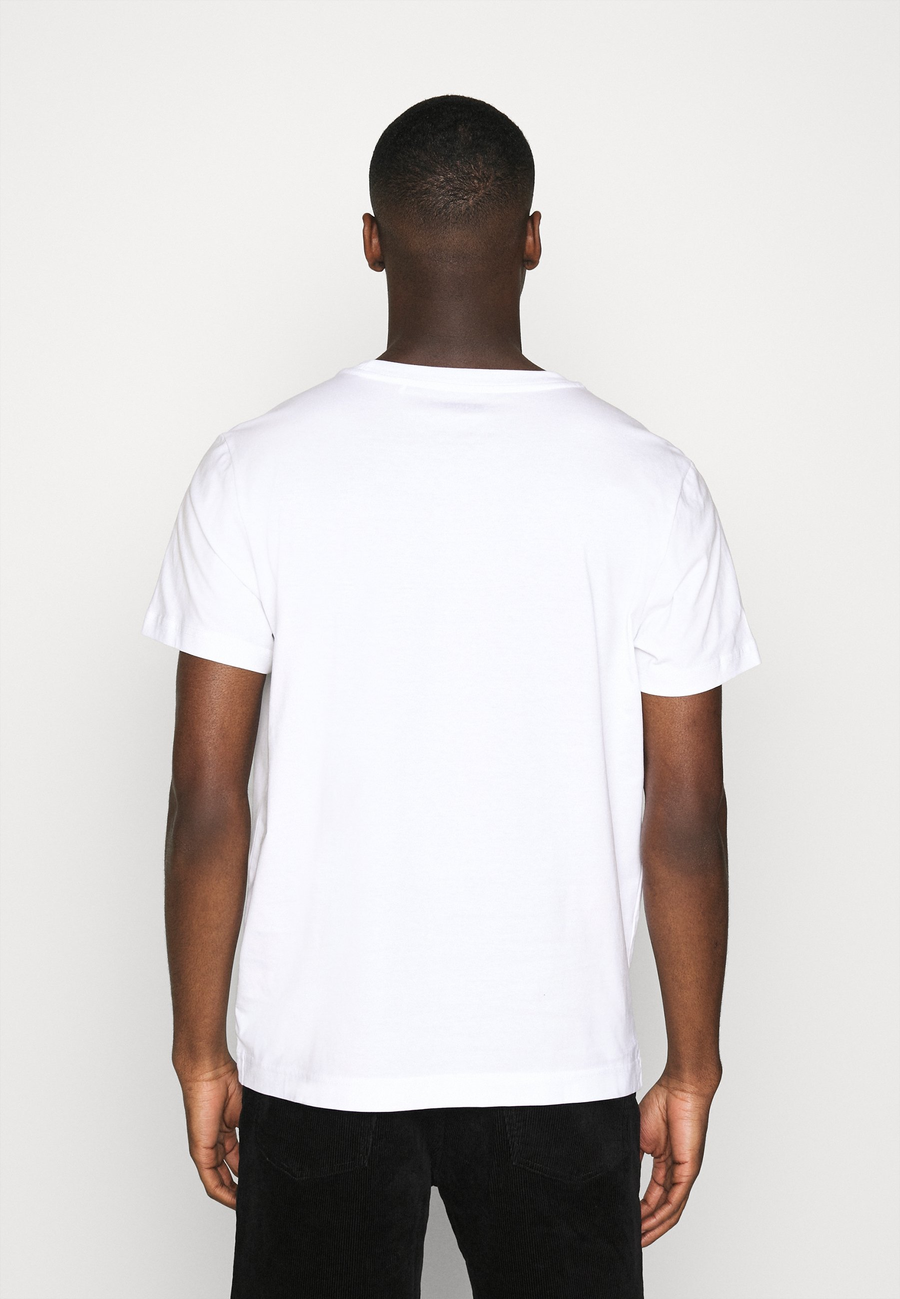 Weekday RELAXED  - Basic T-shirt - white RQTcu