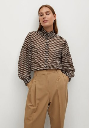 VIENA - Button-down blouse - beige