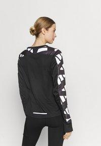 adidas Performance - CELEB - T-shirt sportiva - black/white - 2
