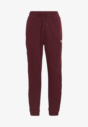 ESSENTIALS TAPE - Pantalon de survêtement - burgundy