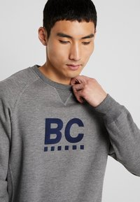 Best Company - CREW NECK RAGLAN - Sweater - grey melange - 5