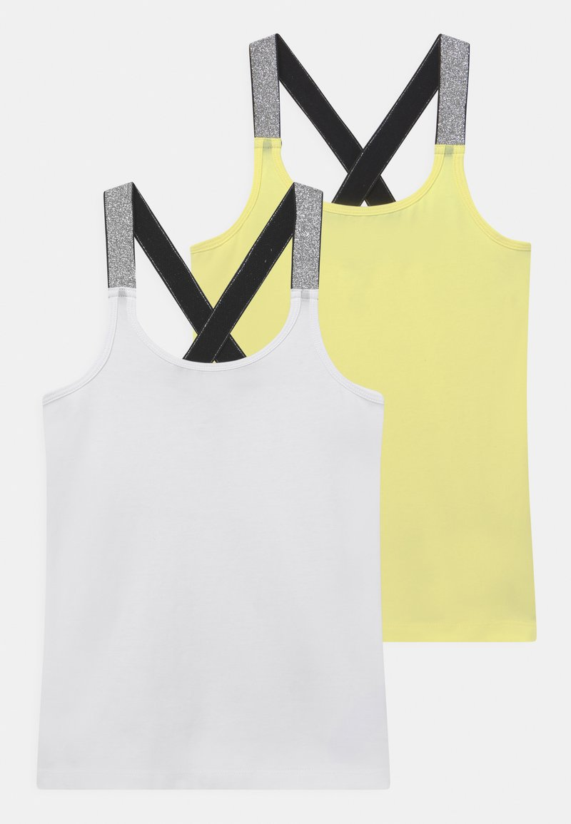 Name it - NKFVALS 2 PACK - Top - bright white