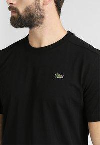 Lacoste Sport - CLASSIC - Basic T-shirt - black - 4