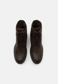 Jack & Jones - JFWBALLARD VINTAGE - Lace-up ankle boots - beluga - 3