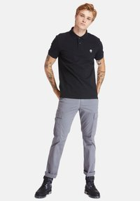 Timberland - MILLERS RIVER - Polo shirt - black - 1