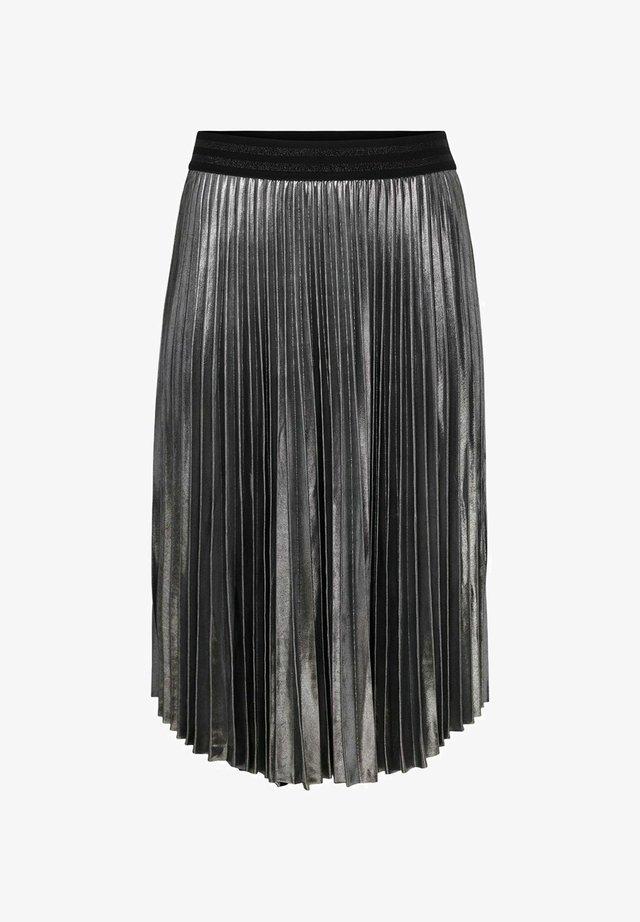 Spódnica plisowana - silver