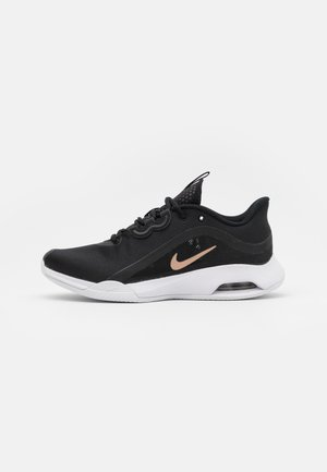 AIR MAX VOLLEY CLAY - Tenisové boty na antuku - black/metallic red bronze/white