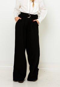 Camaieu - Pantalon classique - noir - 0