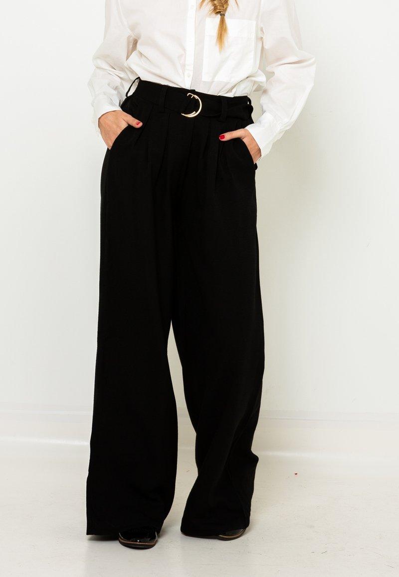 Camaieu - Pantalon classique - noir