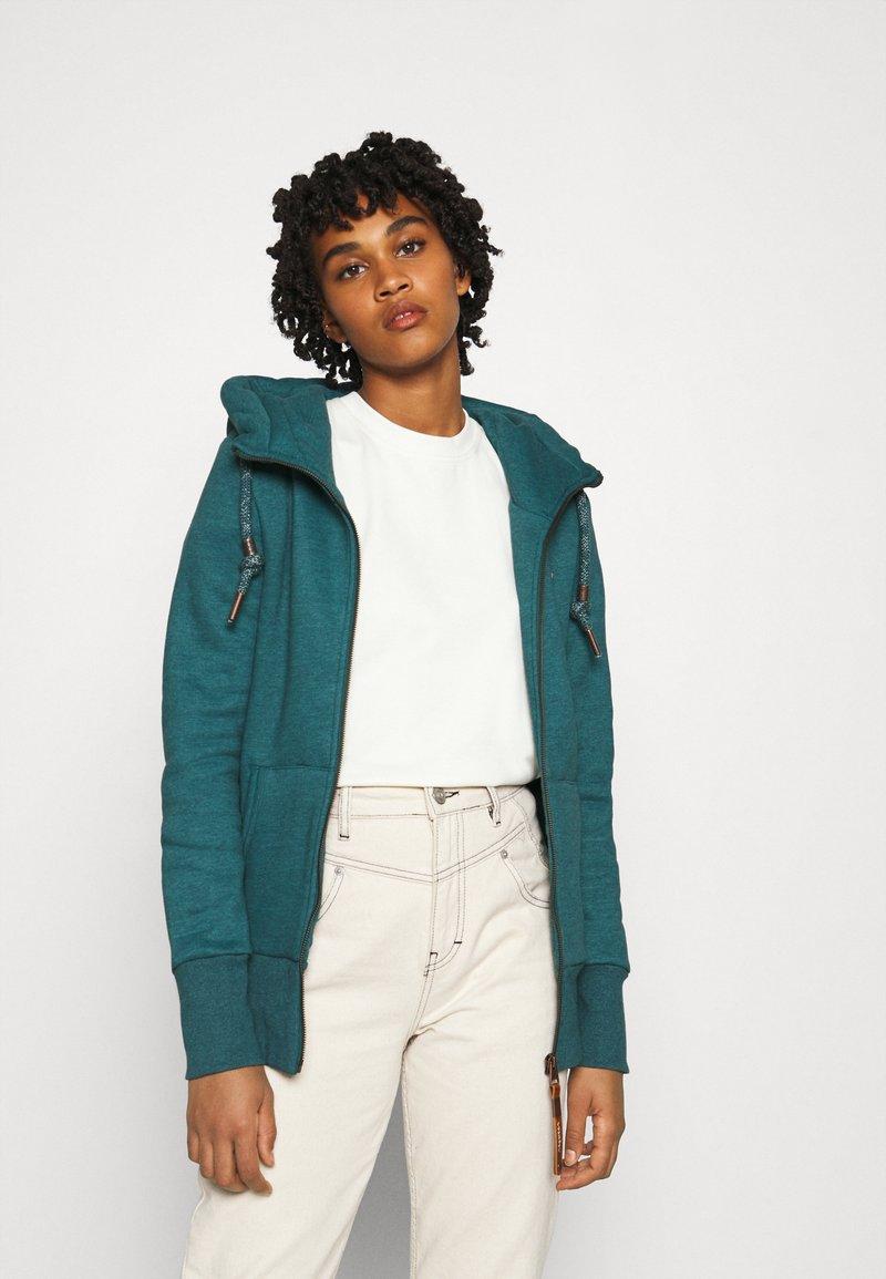 Ragwear - NESKA ZIP - Zip-up hoodie - petrol