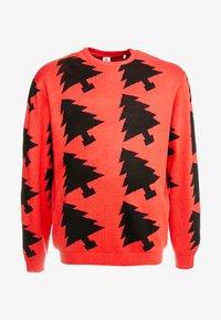 Jack´s Sportswear - XMAX TREES - Jumper - red - 4