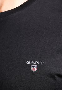 GANT - THE ORIGINAL - Basic T-shirt - black
