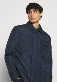 Selected Homme - SLHARVEY QUILTED - Light jacket - sky captain - 3