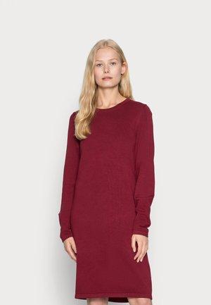 DRESS - Neulemekko - dark red