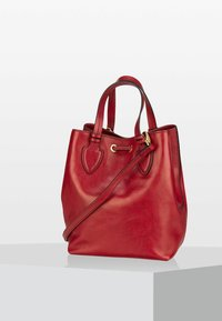 The Bridge - CATERINA  - Handbag - ribes rosso/oro - 2