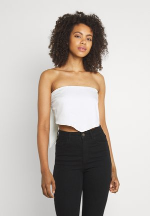 SCARF TIE - Top - off white