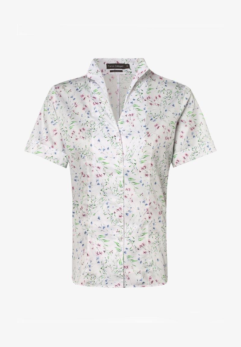 Franco Callegari - Button-down blouse - weiß