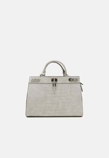 DREIDDA - Handbag - grey/silver-coloured