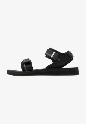 SURUGA - Sandalias - black/dark grey