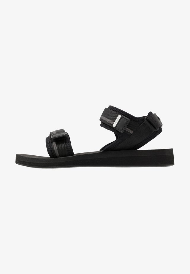 SURUGA - Sandalen - black/dark grey