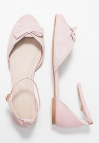 mint&berry - Ankle strap ballet pumps - nude - 3